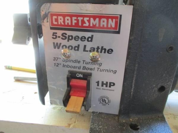 Photo lathe wood Craftsman excellent 12quot x 373939 - $195 (boulder)
