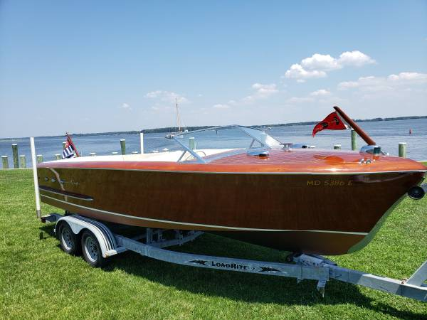Photo 1952 Chris Craft Holiday 23 - $49000 (St Michaels)