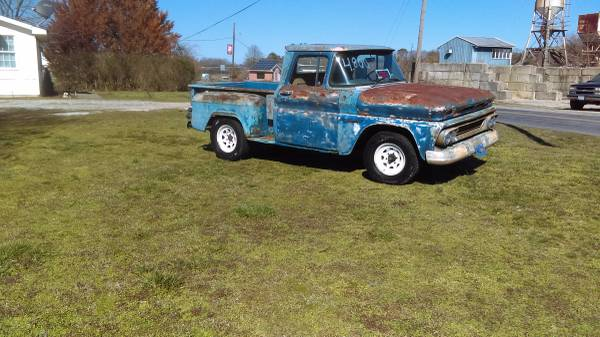 Photo 1960 Chevy APACHE 10 step-side short bed - $4500