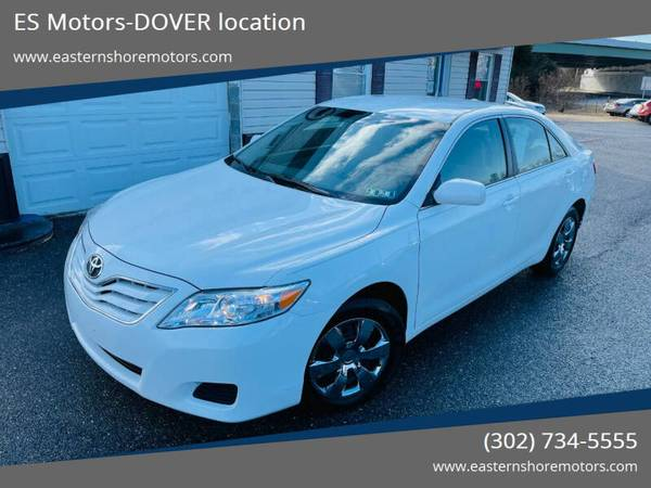 Photo 2010 Toyota Camry- I4 Navigation, All Power, Back Up Camera, Mats - $7,995 (DOVER. WARRANTY INCLUDED.)