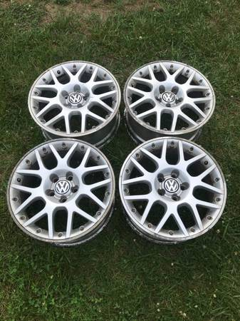 Photo BBS RS800 Wheels 17x7.5 5x112 VW W8 - $800 (Delmar)