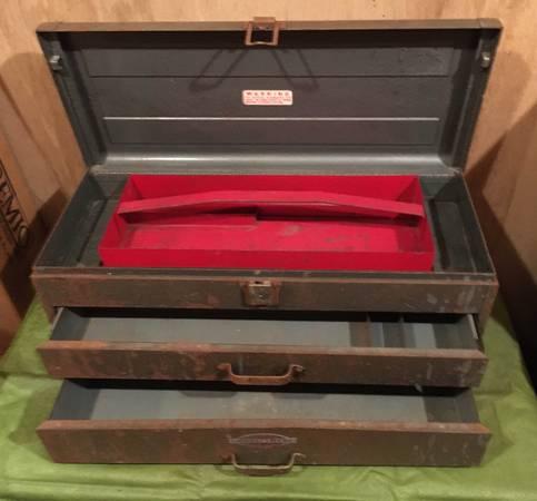 Photo Big Craftsman Mechanics 2-drawer Tool Chest - $50 (Pocomoke City)