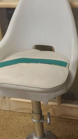 Photo Boat seat with stand - $40 (Deal Island)
