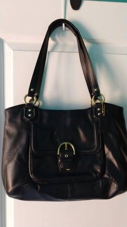 Photo Coach Leather Shoulder Bag - $45 (Denton)