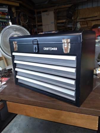 Photo Craftsman tool box w 4 drawers - $30 (hurlock)
