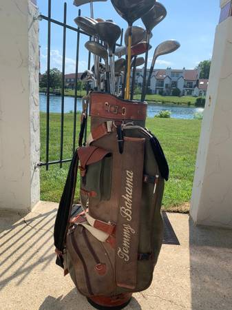 Photo Golf Clubs with Tommy Bahama Bag - $100 (Chester)