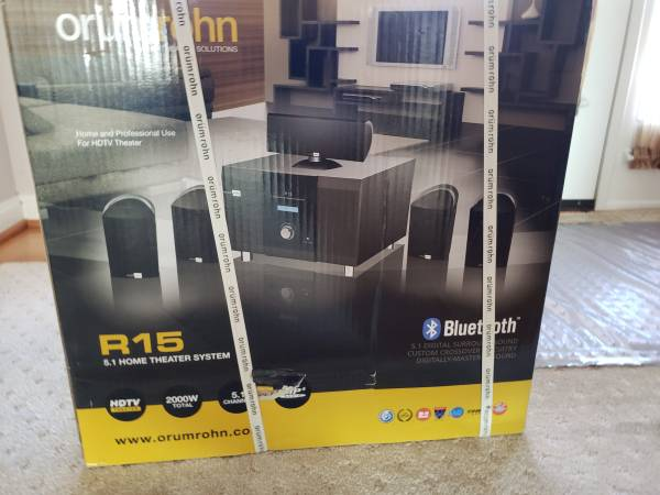 Photo Home Theater System - $200 (Port Deposit)