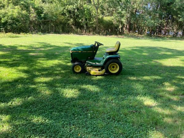 Photo John Deere tractor with mower - $950 (accomac)