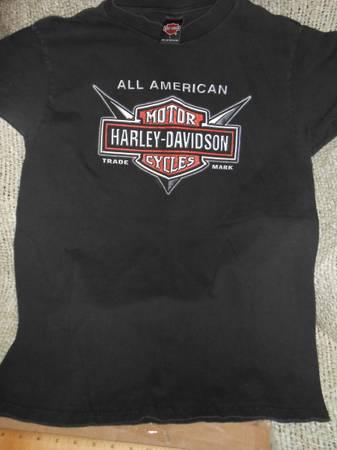 Photo MedLg Barnett Harley Davidson Motortcycle Tee Shirt Vintage SALE - $8 (West Fenwick Island)