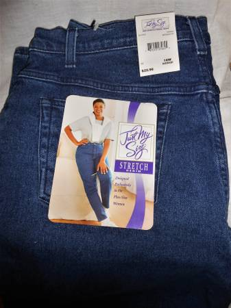 Photo NEW Just my size Jeans 18W SALE - $12 (West Fenwick Island)