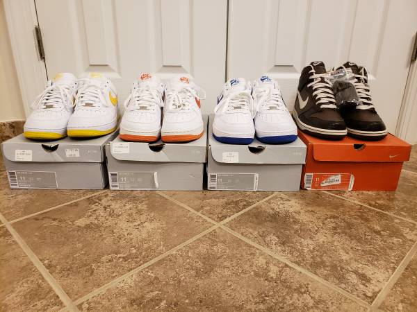 Photo Nike Dunk High  Nike Air Force 1 Low PICS - $1 (Springfield, Tysons, or Woodbridge)
