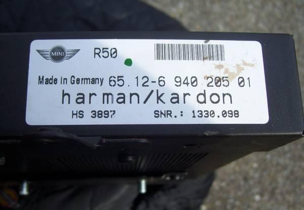 Photo OEM Harman Kardon Audio Amplifier - $89 (North East)
