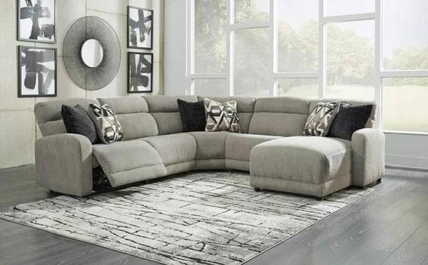Photo Reclining power sectional 6 piece - $1,975 (Eastern Shore,Maryland)