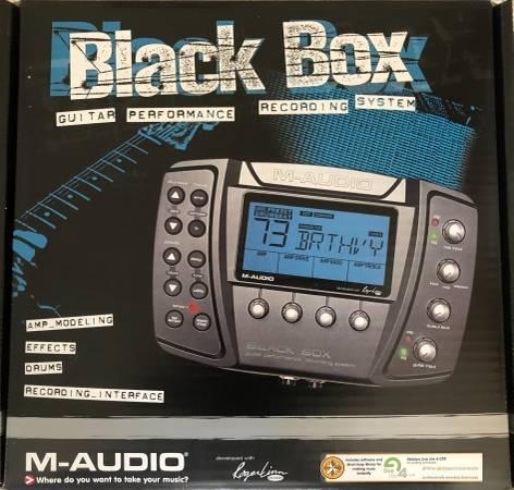 Photo Recording Gear, M-AUDIO Black Box  FOSTEX Studio Monitors - $125 (St. Michaels)