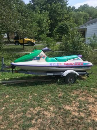 Photo Sea Doo Jet Ski Trailer xtra Motor - $1,450 (Earleville MD)