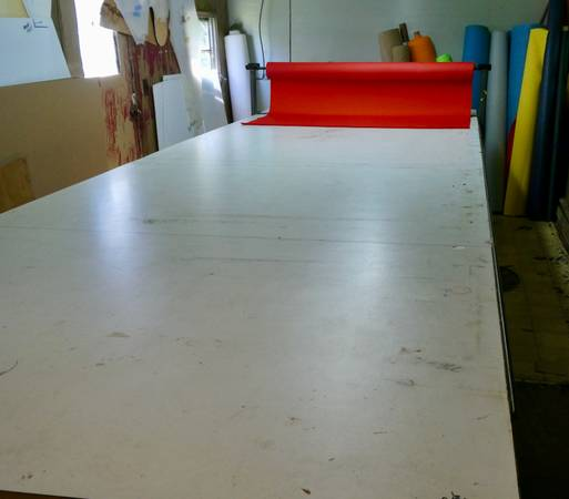 Photo Sewing - cutting table and tools - $850 (Salisbury)