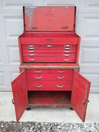 Photo Snap on rolling tool chest vintage - $250 (Hurlock)