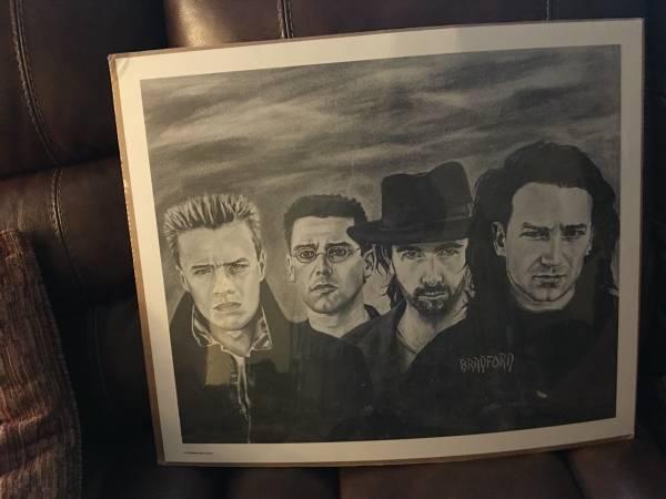Photo U2 Black and White Print by Bradford John Salomon - $35 (Cherry Hill)