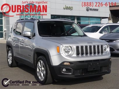 Photo Used 2017 Jeep Renegade FWD Limited for sale