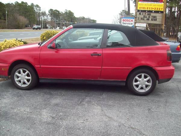 Photo VW-1997 CABRIO - $2995 (Ocean City)