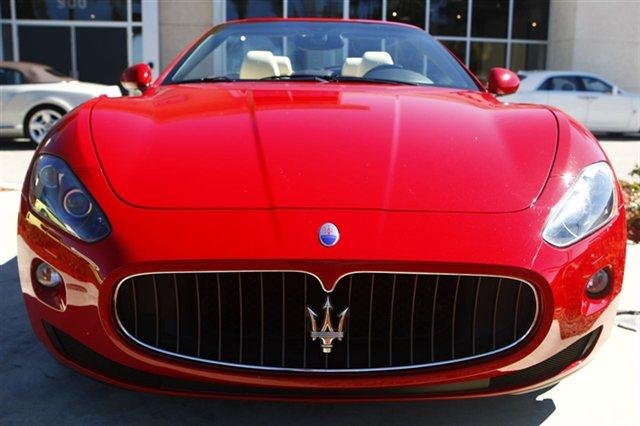 Photo 2010 Maserati Gran Turismo Convertible 29k