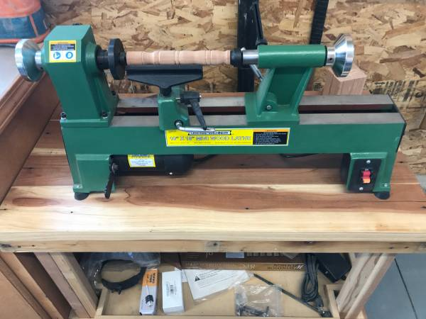 Photo 12 HP Benchtop Wood Lathe - $345 (Rigby, Idaho)