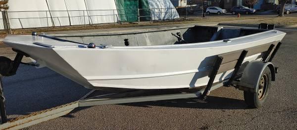 Photo 1439 Midjet Aluminum Jet Boat Great Shape with Fresh Paint - $3,800 (Boise)