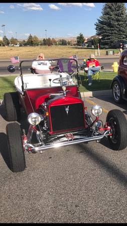 Photo 1923 Ford Roadster (T-Bucket) - $21,500 (Idaho Falls, ID)