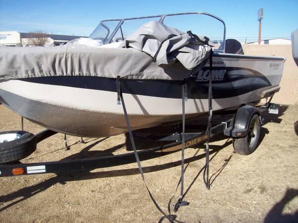 Photo 2004 lowe 175fs 90 hp johnson - $14,495 (na)