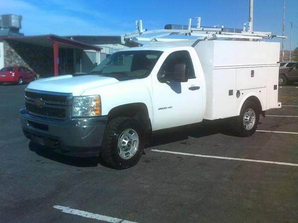 Photo 2012 Chevy Silverado 2500 Utility Bed 4X4-REDUCED - $12,900 (University Auto Sales Inc, Pocatello)