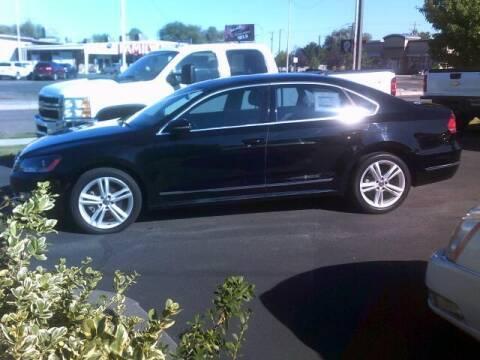 Photo 2012 VW Passat TDI Premium - $12800 (UNIVERSITY AUTO SALES INC, Pocatello)