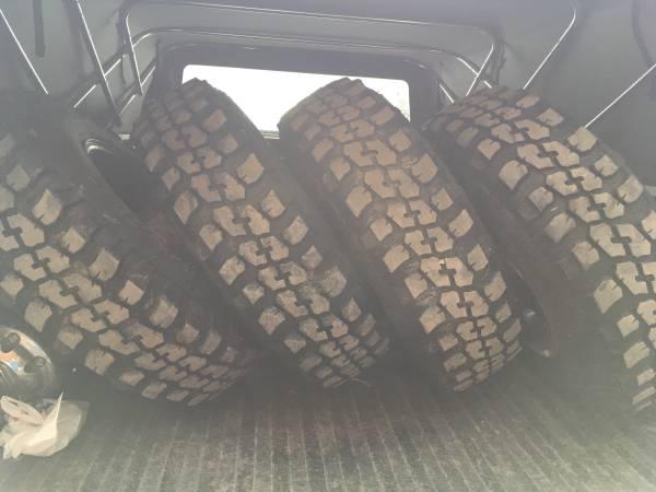 Photo 2358516 mud tires on 8 lug dodge rims - $600 (St anthony)
