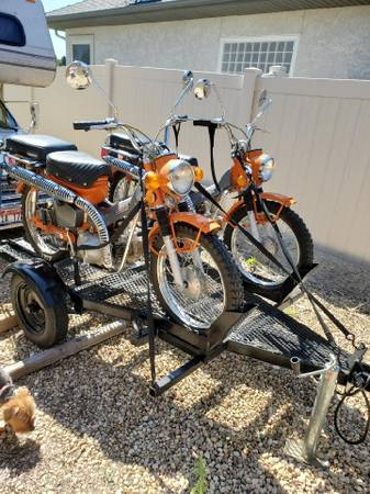 Photo 2 1973 Honda Trail 90 for sale with trailer - $4,500 (Star)