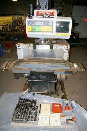 Photo Bridgeport R2E4 Vertical CNC Milling Machine - $6,000 (Shelley)