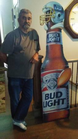 Photo Card board Bud Light - $55 (Idaho Falls)