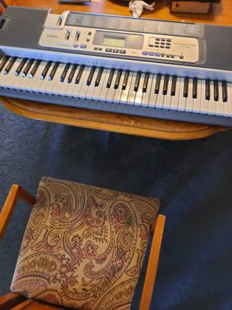 Photo Casio Keyboard LK-100 - $80 (Central Rim)