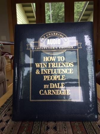 Photo How to Win Friends and Influence People Dale Carnegie Audio Cassettes - $15 (Bozeman, MT)