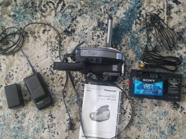 Photo Panasonic palmcorder - $40 (Boise)