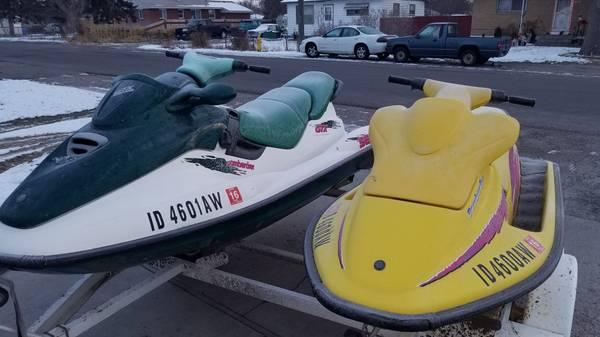 Photo Set of seadoos 1200 and 2k - $1200 (Pocatello)