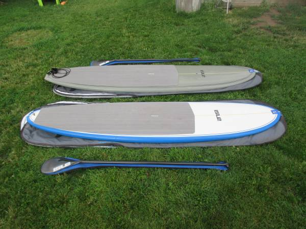 Photo Standup paddle board packages wpaddle, bag, leash - $1,000 (Driggs)