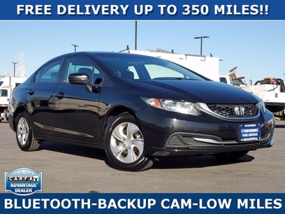 Photo Used 2015 Honda Civic LX Sedan for sale