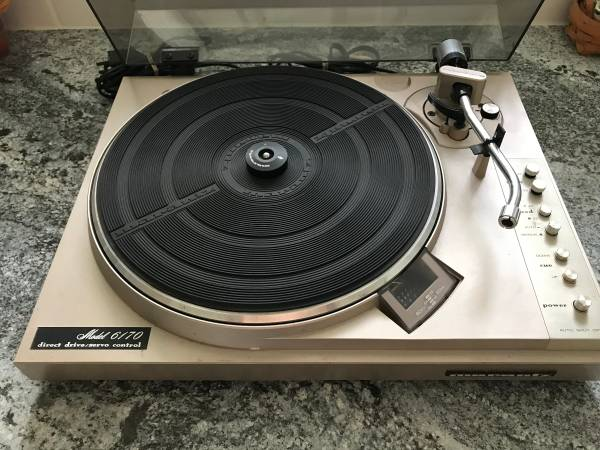 Photo Vintage Marantz 6170 Turntable - $175 (Pocatello)