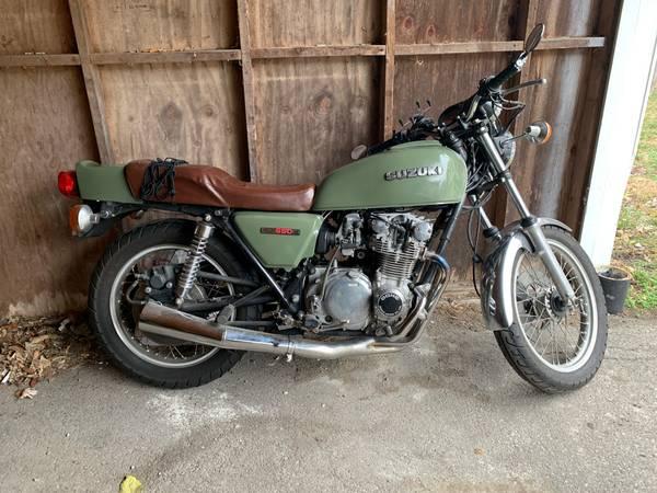 Photo 1979 Suzuki GS550e - $3,200 (Lexington, KY)
