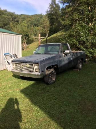 Photo 1985 Chevy C10 - $1,650 (Whitesburg)