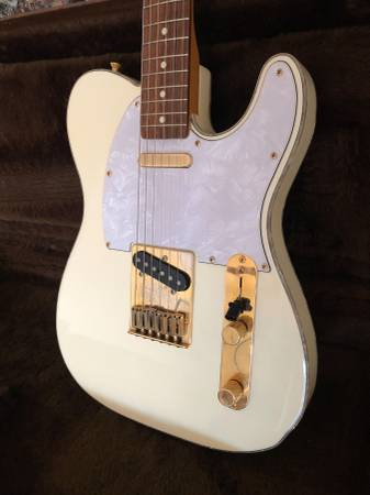 Photo Fender 90s Telecaster Custom MIJ Olympic White - $1,800 (Lexington)