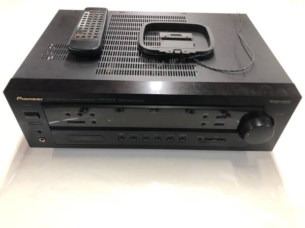 Photo Pioneer Audio Video Surround Sound Receiver And Speaker Stands - $60 (Georgetown Ky)