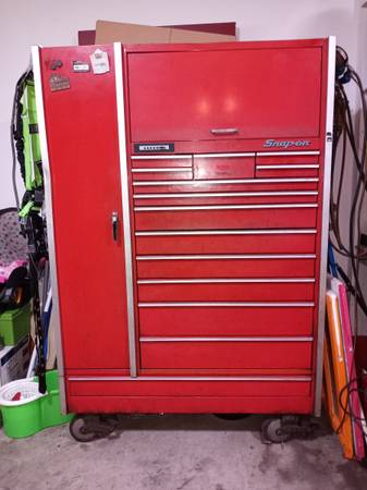 Photo Snap-on tool box and tools - $5,000 (Union)