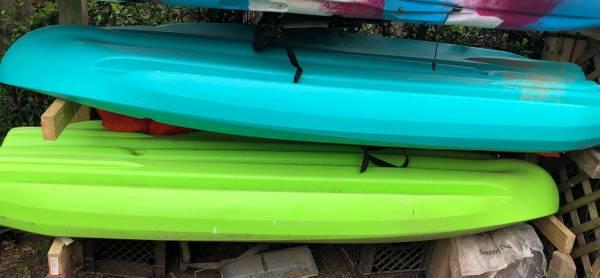 Photo Two gently used kayaks - $400 (Lexington)