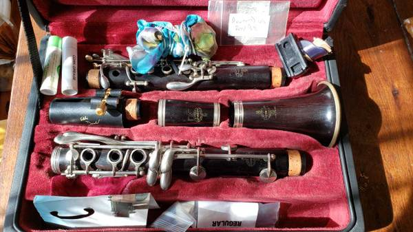 Photo Vintage Buffet Cron R13 Clarinet, Overhauled, Upgraded - $1,499
