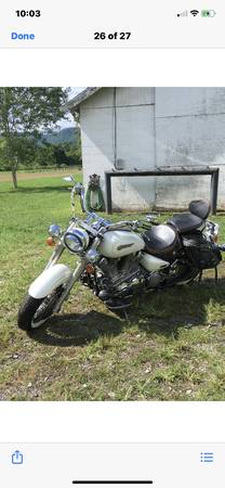 Photo Yamaha Road Star - $5,200 (Weber City)